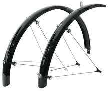 Sks Bicycle Mudguard  Set Olympic 28 Black 42Mm Wide