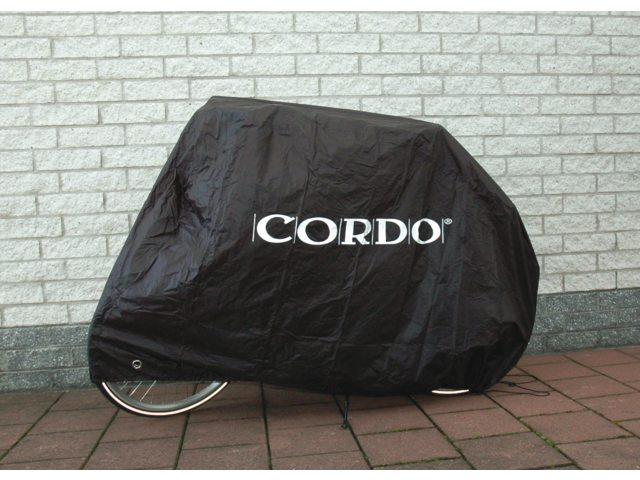 Cordo Bicycle Cover 2 Bicycles 128X98x235 Black