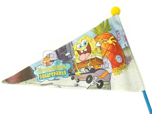 Spongebob Bicycle Flag 2-Parts