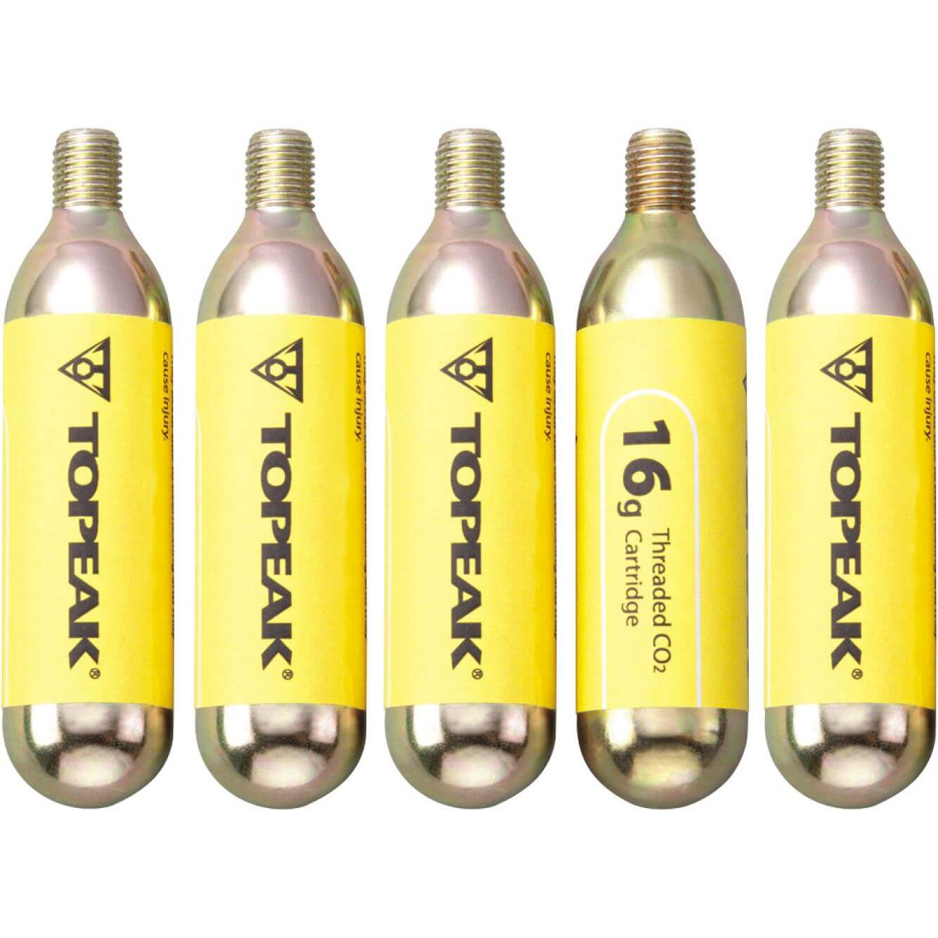 Topeak Co2 Cartridges Cobra (5 Pieces)