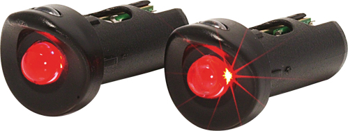 XLC Handlebar End Cap With Red LED (2 Pieces)