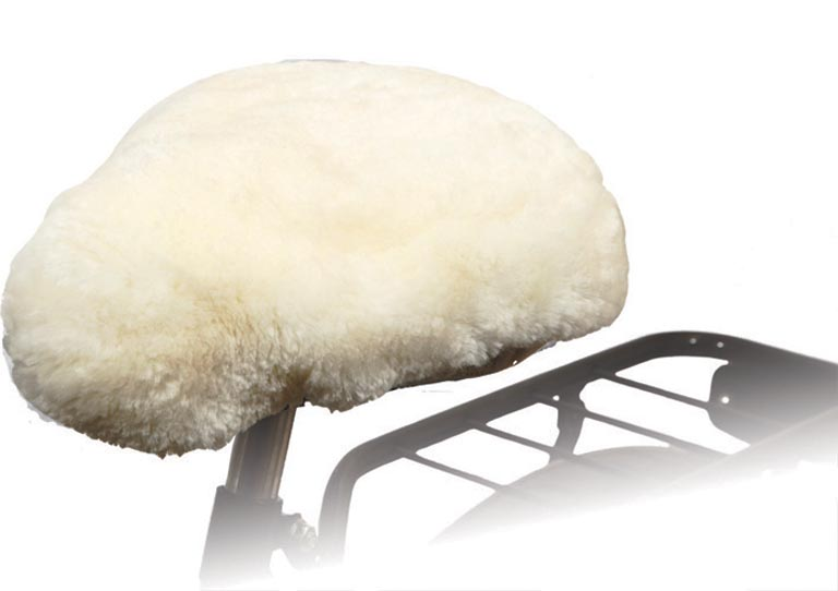 Willex Saddle Cover Wool Natural