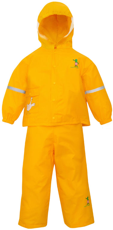 Willex Frog Rain Suit Size - 104/110 Yellow