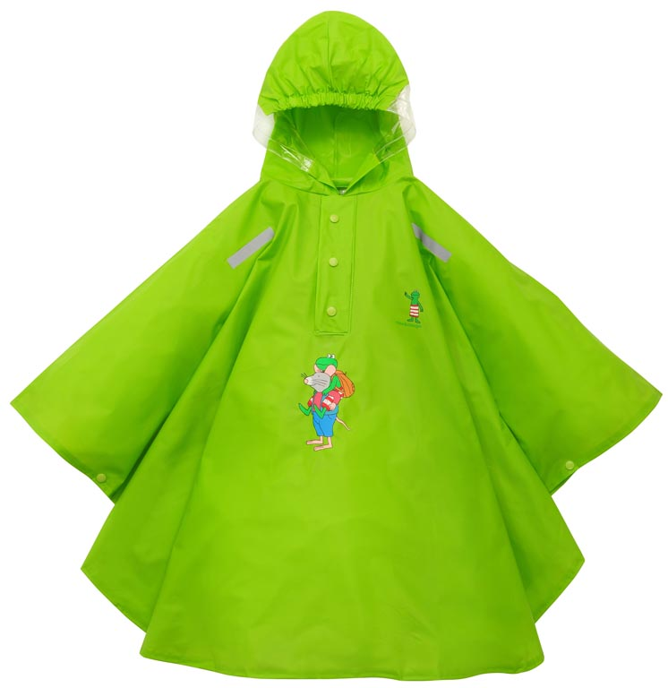 Willex Frog Poncho Size - 116/122 Green (Cape)