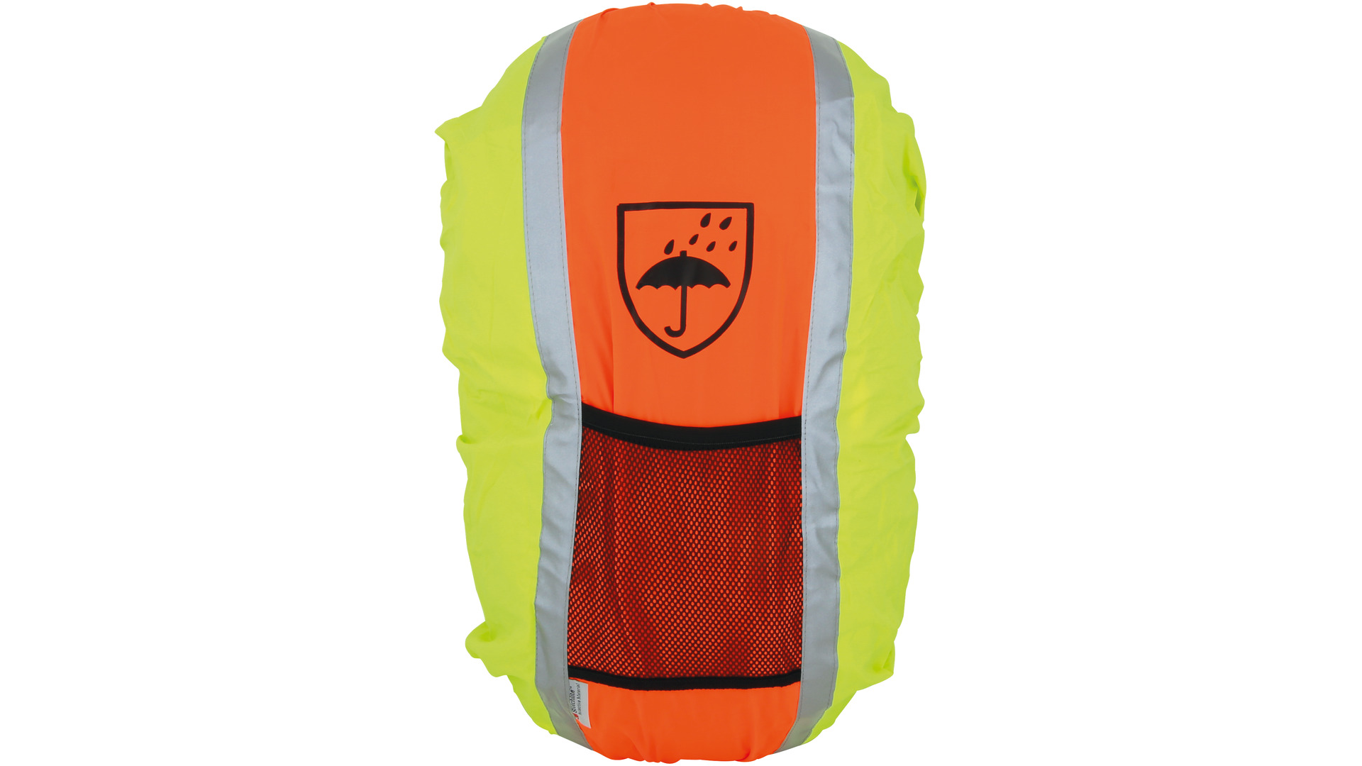 FASI Reflective Backpack Cover - Yellow/Orange