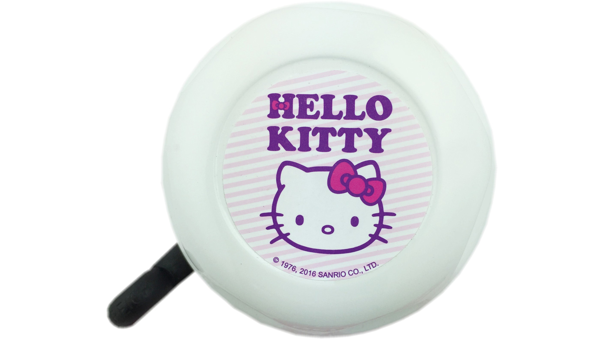 Bike Fashion Childrens Bicycle Bell Hello Kitty White