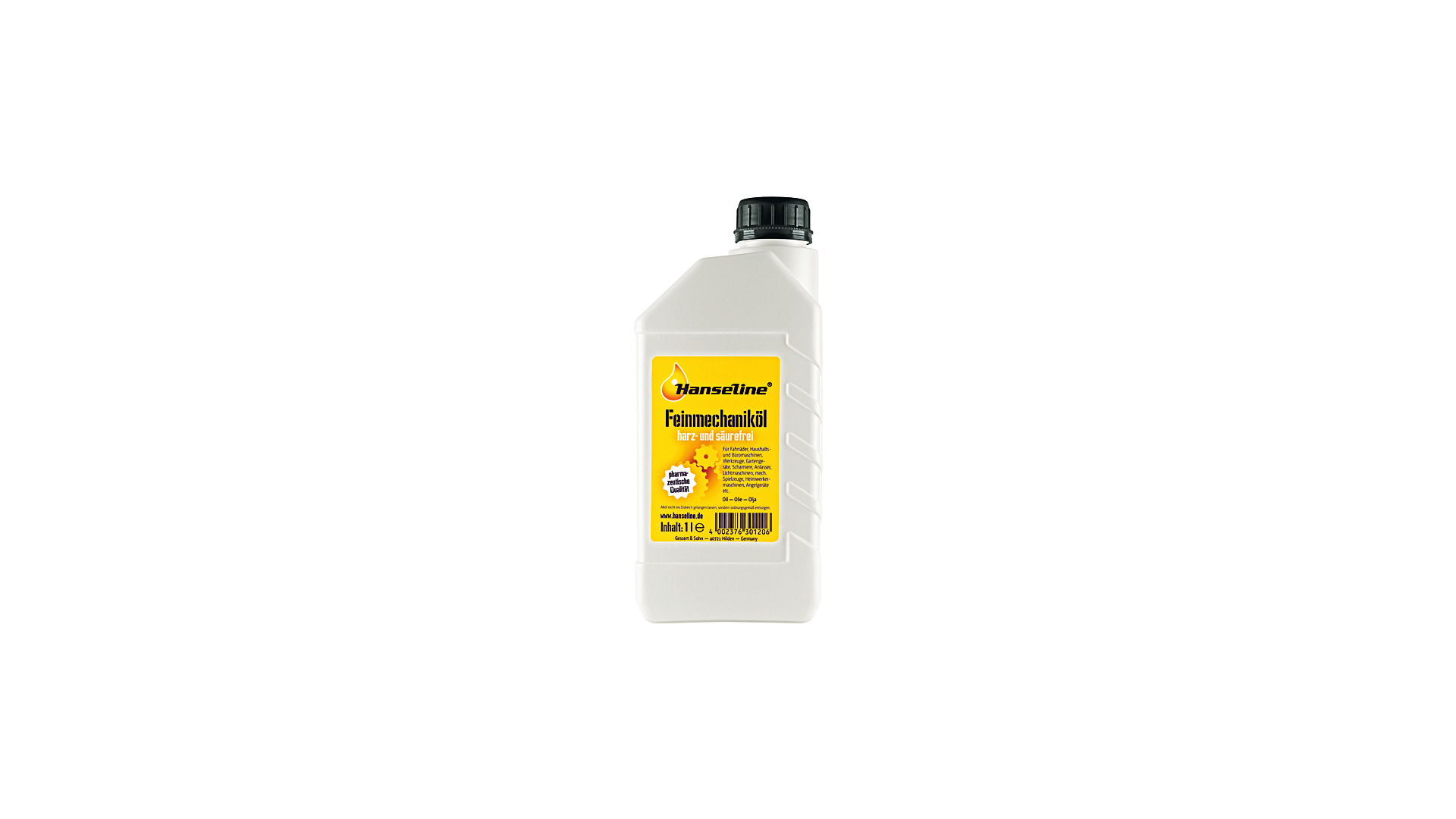 Hanseline Precision Mechanics Oil Bottle 1L