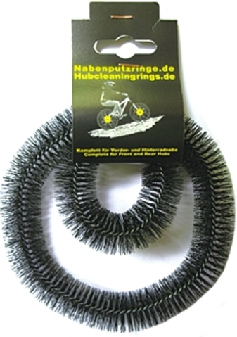 Hub Cleaning Rings - Sprocket Hubs Synthetic Fibre Black (2)