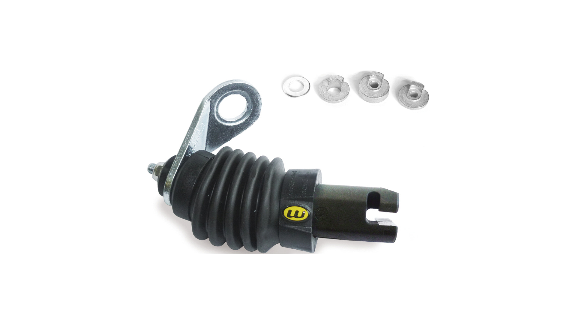 Weber Trailer Coupling E for Axle Mounting