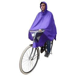 Hooodie Poncho One-Size-Fits-All Purple