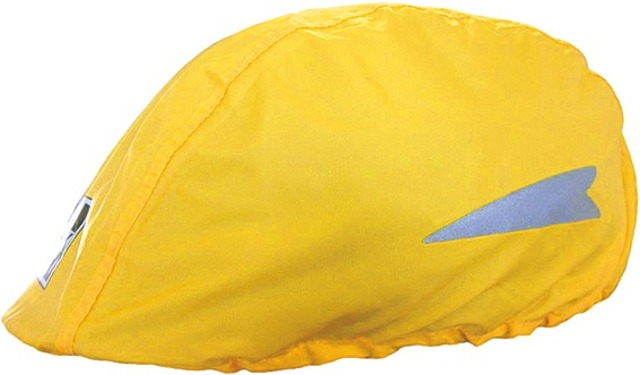 Hock Rain Cover for Cycling Helmet - Yellow