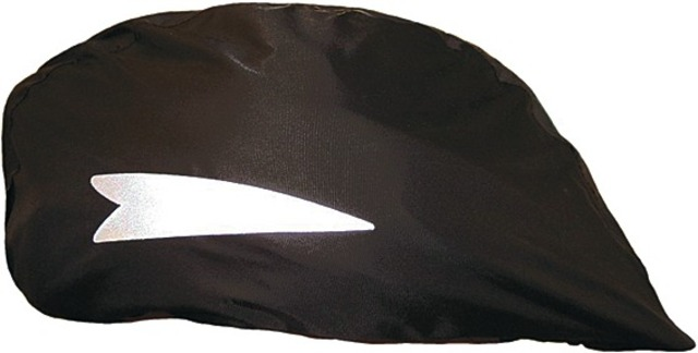 Hock Rain Cover for Cycling Helmet - Black