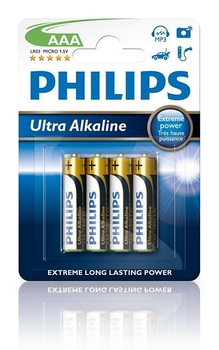 Philips Extremelife Micro-Cell LR03 1,5V AAA (4)