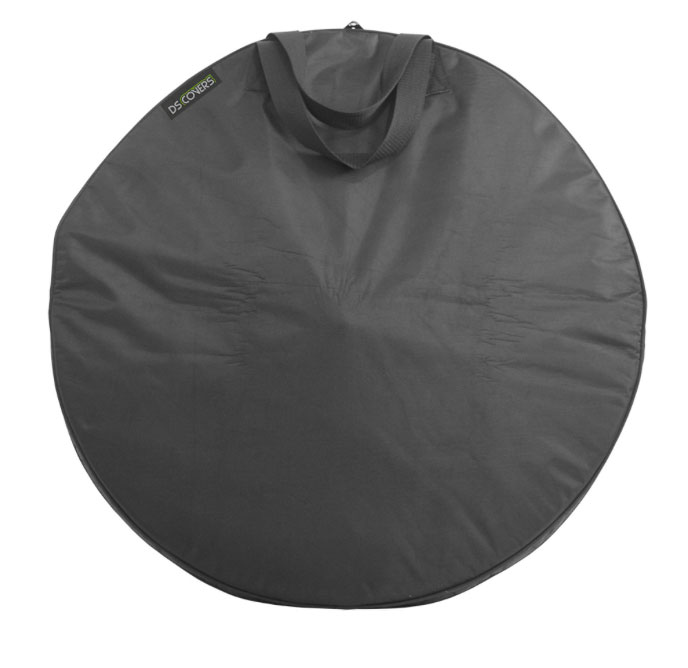 DS Covers Wheel Bag Cross Max. 28 Inch - Black