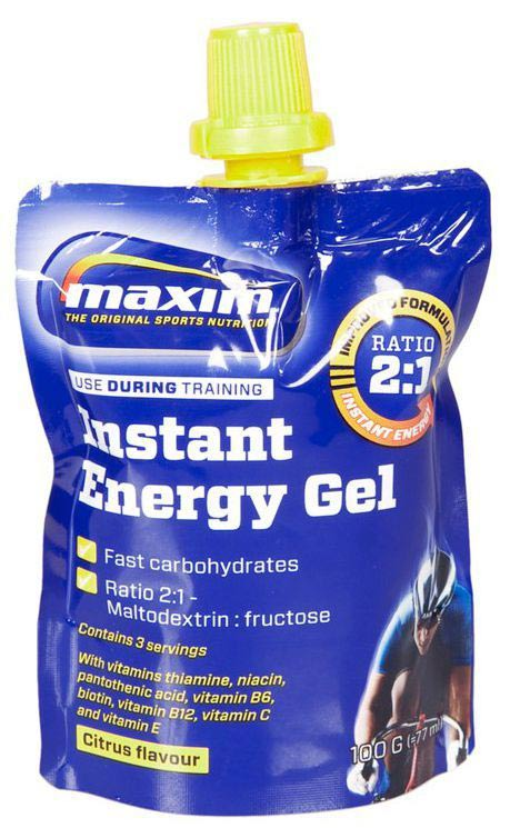 Maxim Energy Gel 100gr - Lemon (24)