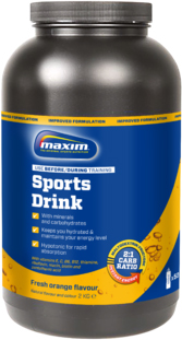 Maxim Sports Drink Powder Hypotonic Electro Orange 2Kg