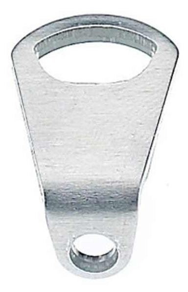 Tubus Mounting Plate Bent for Lowrider - Silver