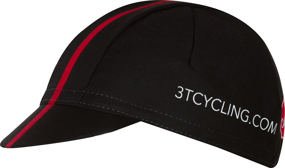 3T Team Cap One Size - Black/Red