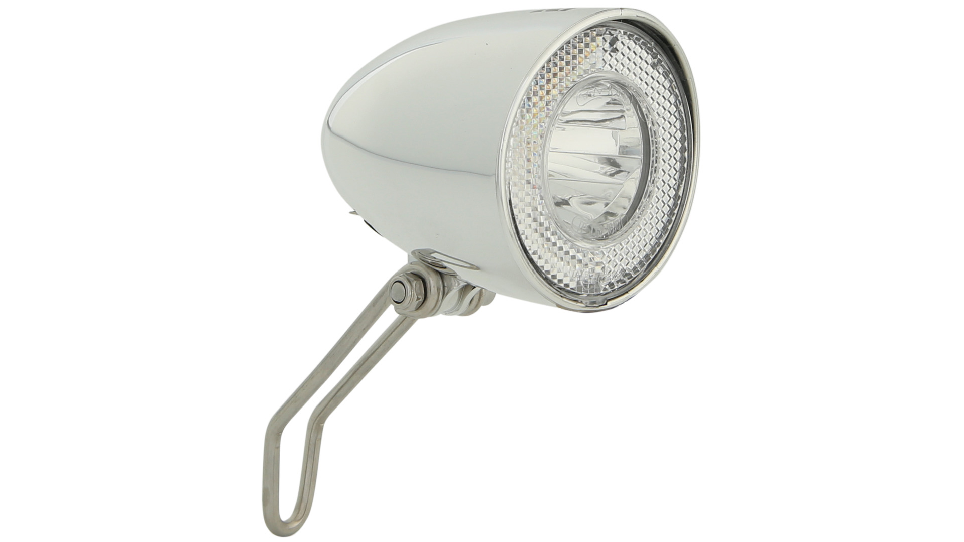 Contec Headlight Retro Classic N 20 Lux Switch - Silver