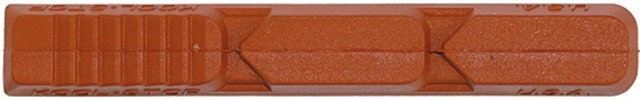 Kool Stop Brake Pad V-Type 2 Salmon for V-Brakes