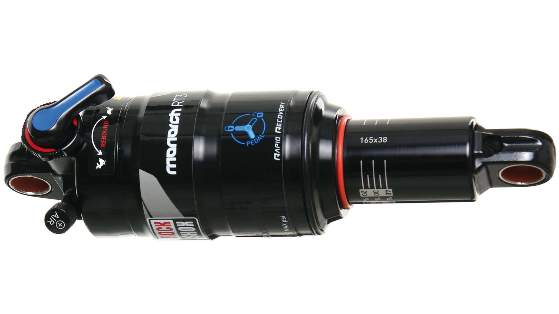 RockShox Damper Monarch RT3 165x38mm - Black