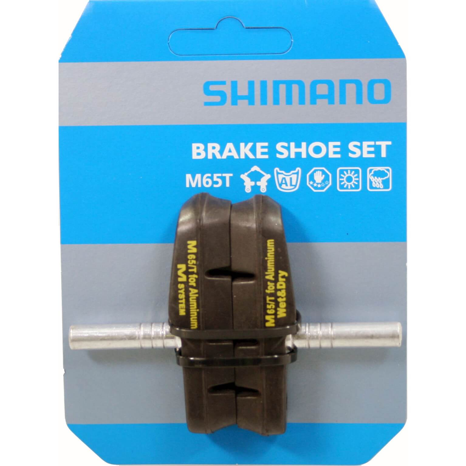 Shimano Brake Pad Set Cantilever M65t (2Pieces)