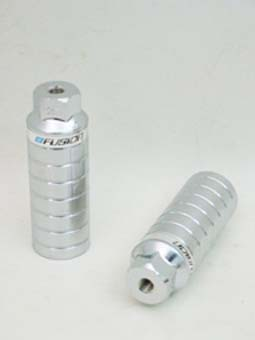 Haro Pegs Mega 4 - 3/8 Inch Thread Chrome