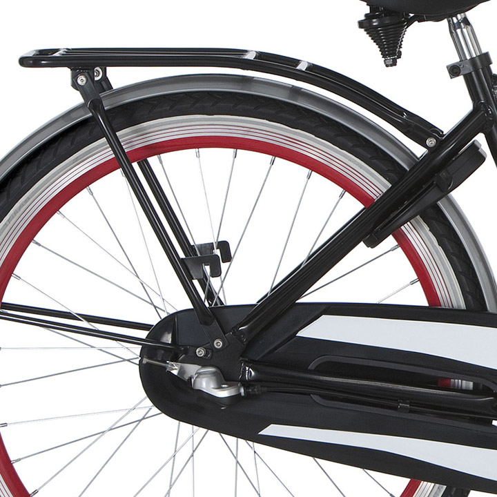 Alpina Luggage Carrier Clubb 26 Inch Black