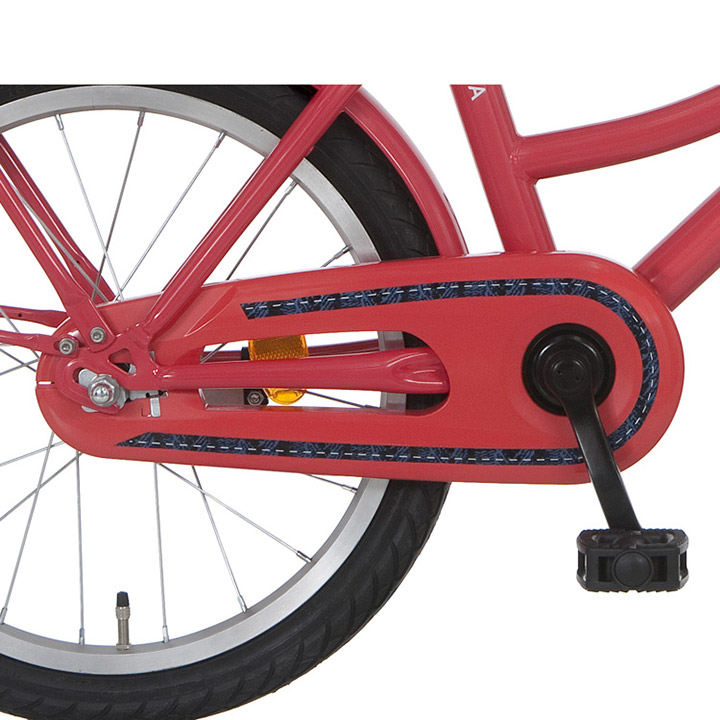 Alpina Chain Guard Red For 16/18 Inch Juno