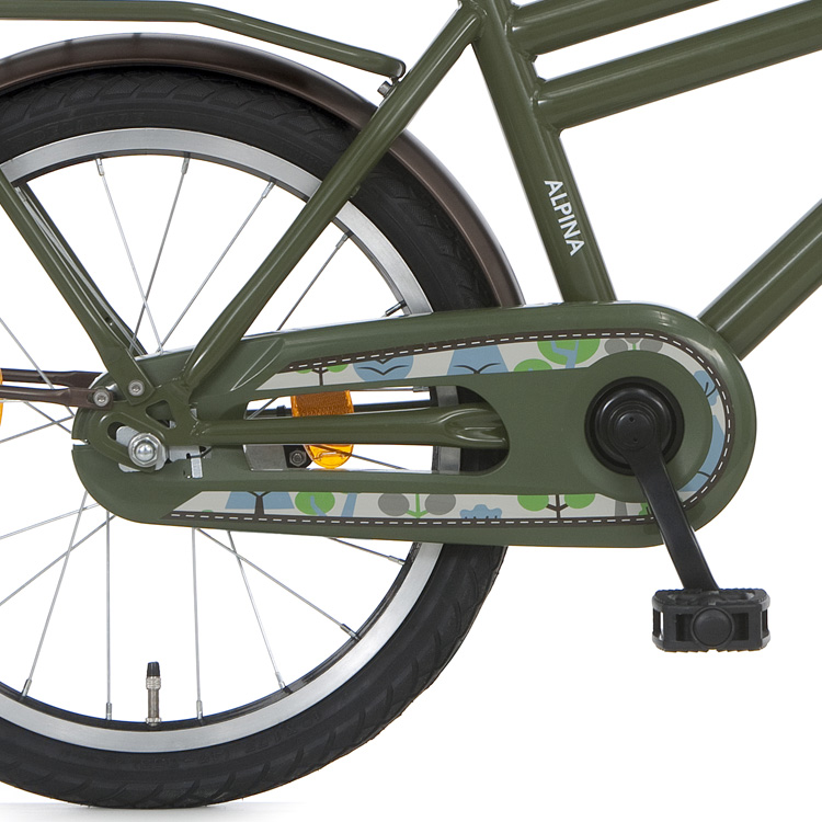 Alpina Juno Open Chain Guard 16/18 Inch - Green