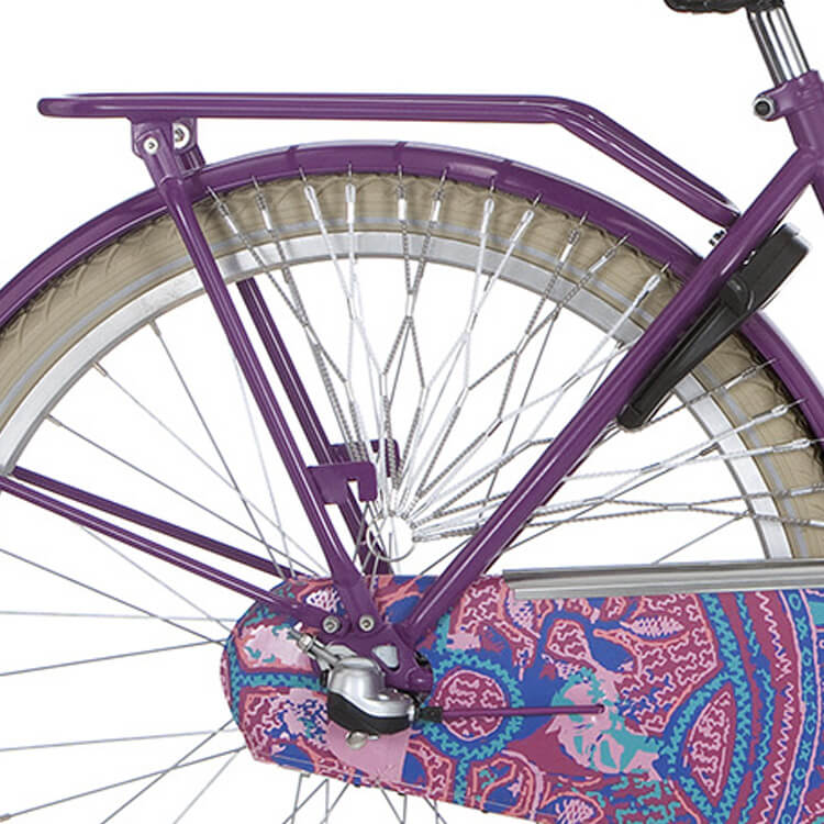 Alpina Luggage Carrier 26 Inch Tingle - Purple