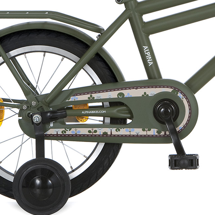 Alpina Chain Guard 16/18 Inch Juno - Army Green