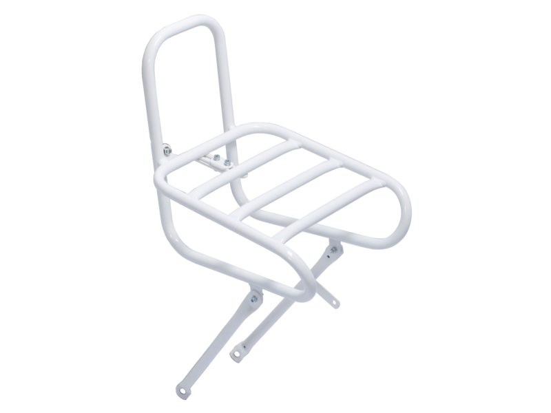 Steco Front Rack Smooth 28 Inch 25Cm White