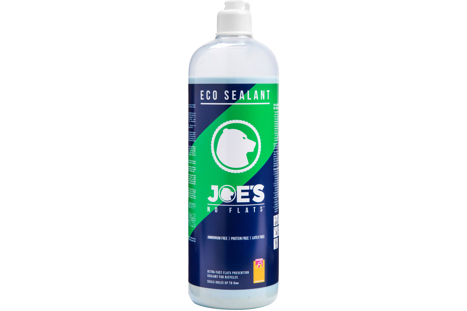 Joes No-Flats Eco Sealant Blue 1 Liter Bottle