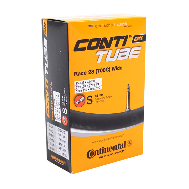Continental Inner Tube Race 700 x 25-32C Wide 42mm PV
