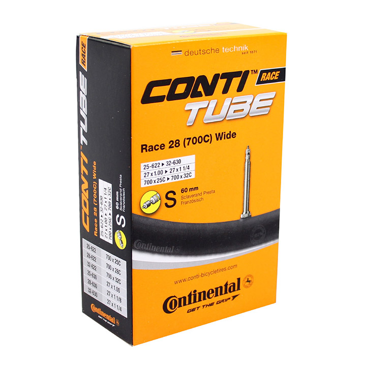 Continental Inner Tube Race 700 x 25-32C Wide 60mm PV