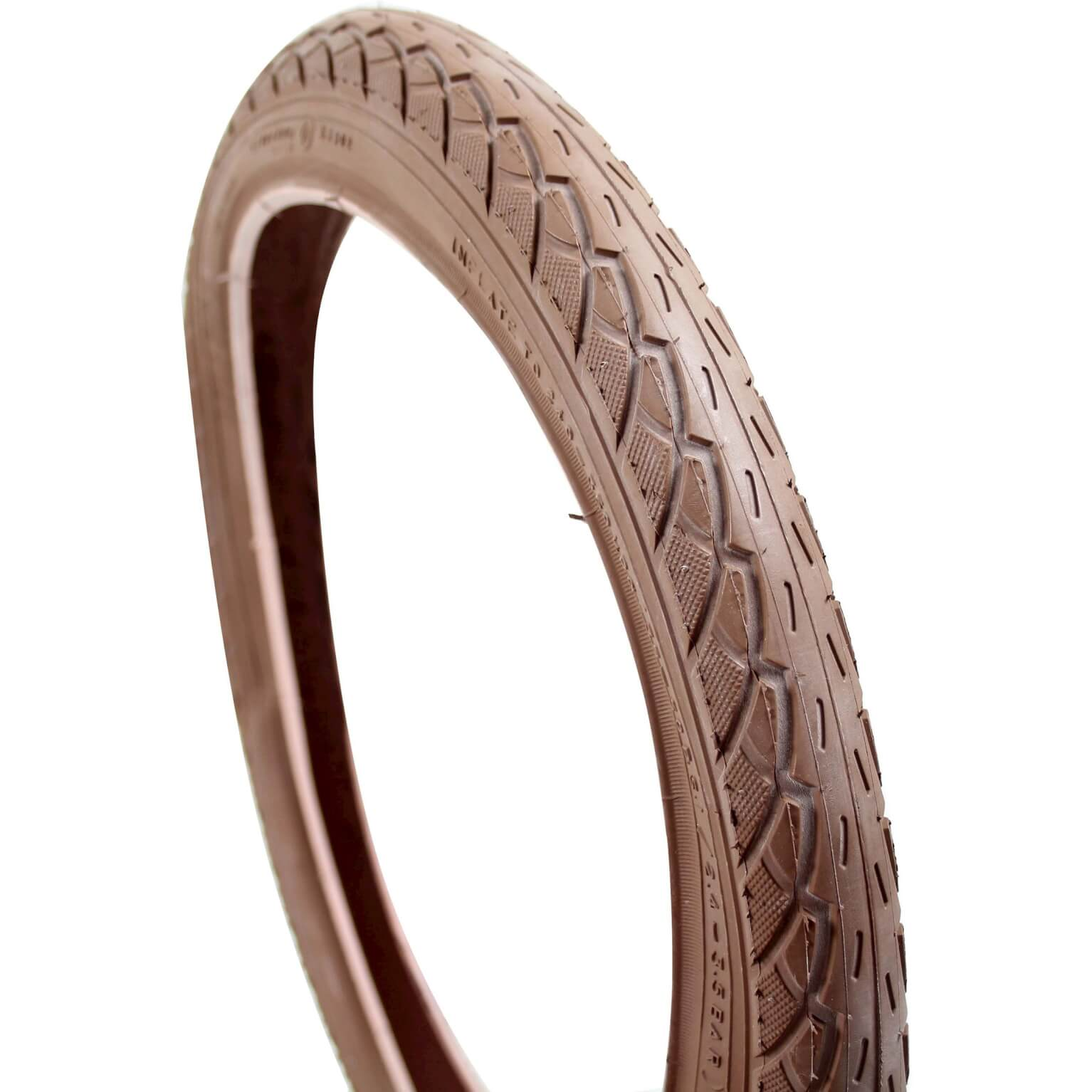 Deli Tire Tire 18x1.75 Inch - Dark Brown