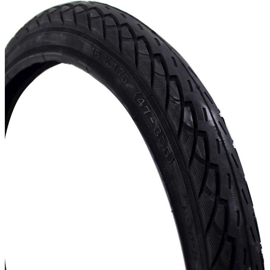 Deli Tire S-206 Tire 18x1.75/47-355 - Black