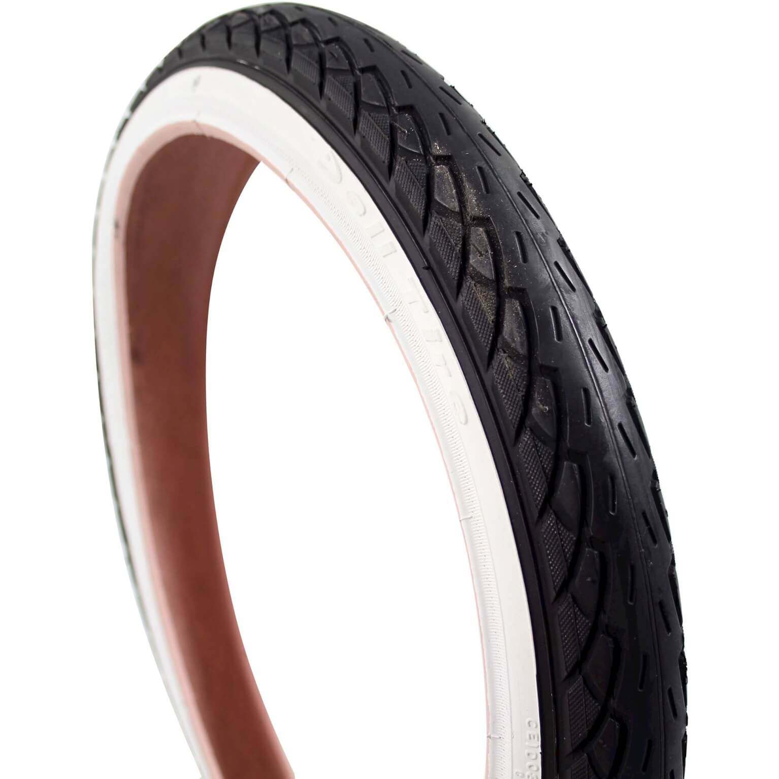 Deli Tire Tire 18x1.75 Inch - Black/White