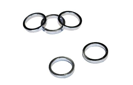 VWP Headset Spacer 5mm 1 Inch Alu - Silver (5)