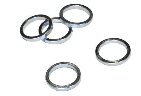 VWP Headset Spacer 5mm 1 1/8 Inch Alu - Silver (5)