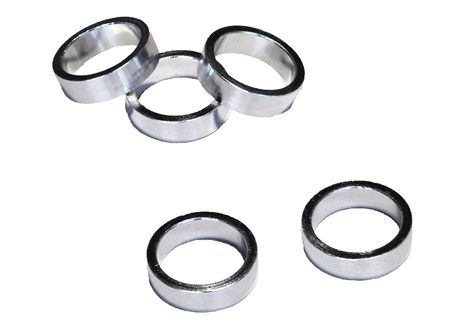 VWP Headset Spacer 10mm 1 1/8 Inch Alu - Silver (5)