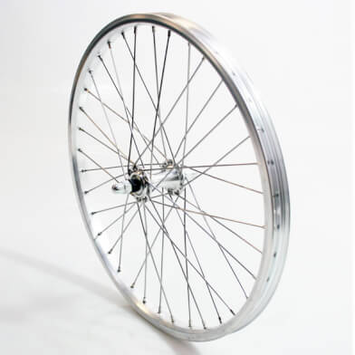 Dahon Front Wheel 20 Inch Solid Skewer Grey