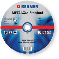 Berner Grinding Disc Metal Flat 115 x 1mm
