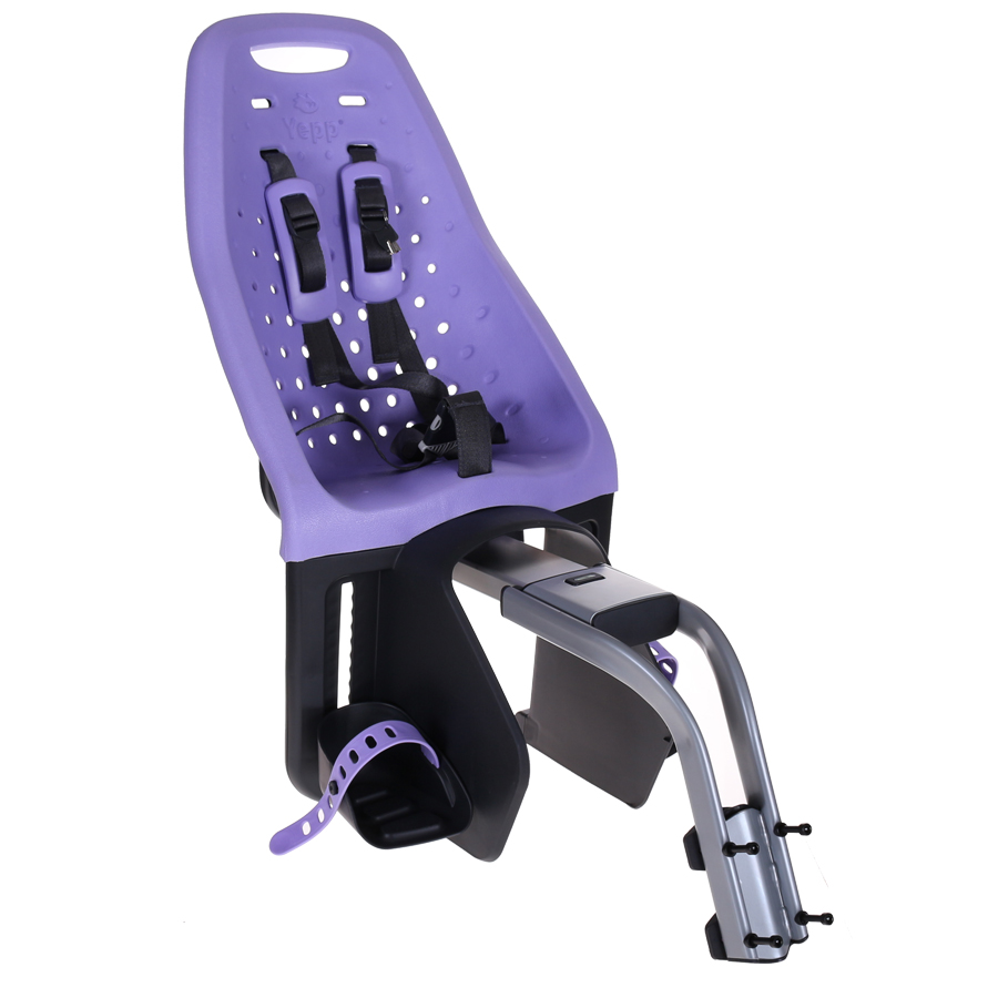 Gmg Rear Child Seat Yepp Maxi Purple Incl. Assembly Bracket