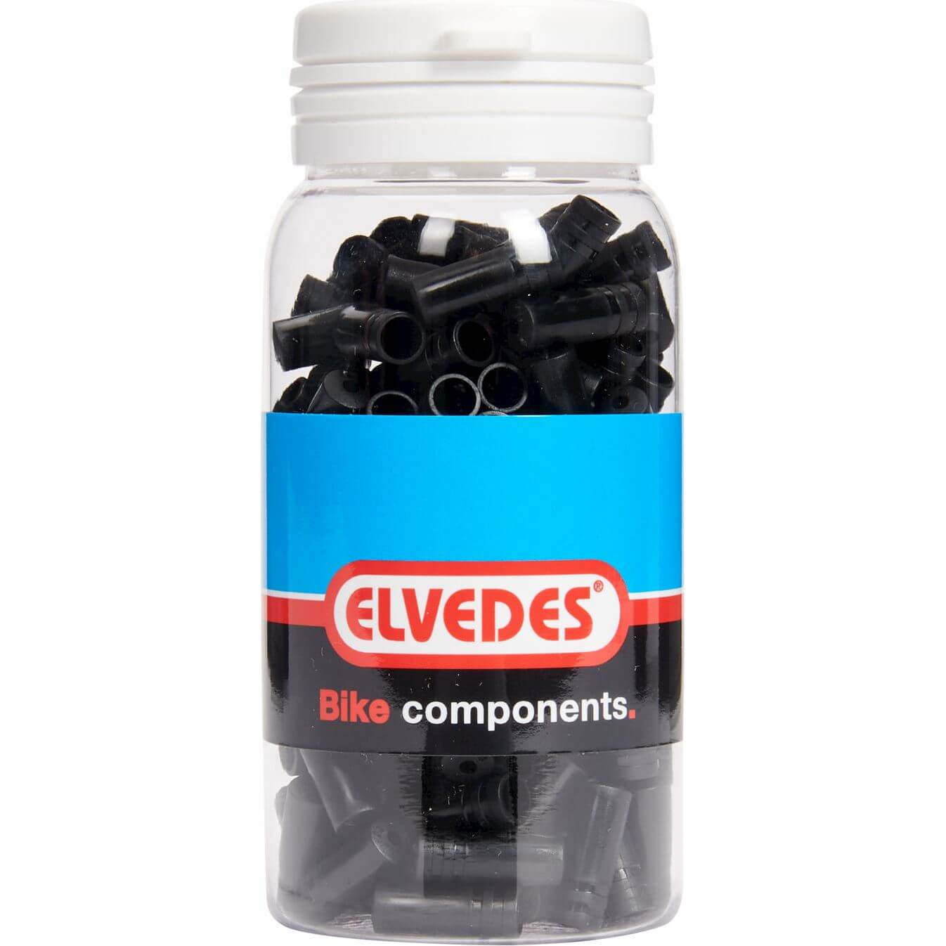 Elvedes Cable Ferrule 4.3mm PVC Black (1)