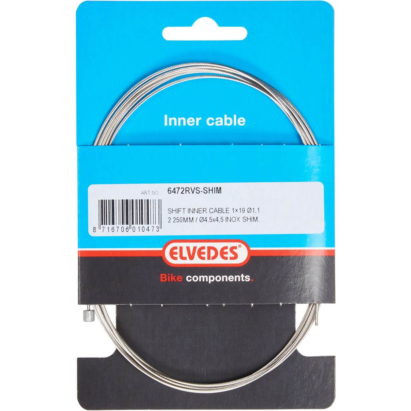 Elvedes Inner Cable Speed Inox 1.1mm For Shimano