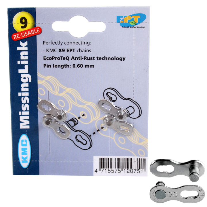KMC Chain Link 9V EPT Silver