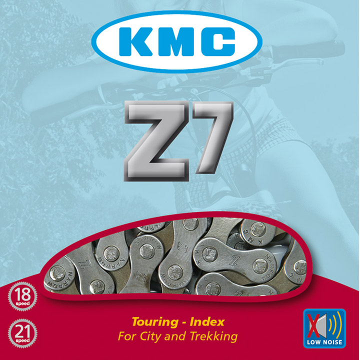 Kmc Bicycle Chain Z7 Brown