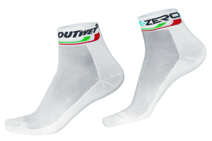 Outwet Extra Cool Socks White - Size 43/46
